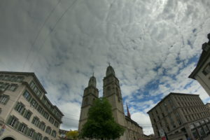 スイス・チューリッヒ 3時間で4か所観光