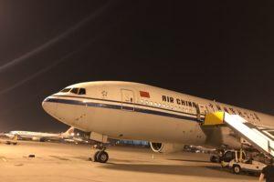 中国国際航空ビジネスクラス 羽田-北京-バンコク(CA182, CA979, CA980, CA167)